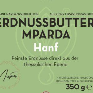 Erdnussbutter MPARDA Hanf